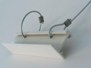 Montering Lydflåde stropper. 1