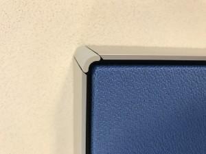 DecoDemp akustik paneler med radius hjørne
