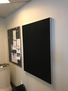 DecoDemp Akustik og støjdæmpning til væg . Cipoff akustik paneler til væg montering. 2
