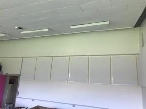 DecoDemp Akustik og støjdæmpning til væg . Classic Light akustik paneler til væg montering.