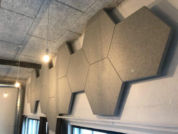 DecoDemp Akustik. SoftQ akustik i 6 kanter. Akustik klasse A