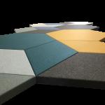 Soft QR og soft Q akustik og støjdæmpning-paneler 9