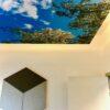 DecoDemp Soft X Bas støjdæmpning med 100 mm absorbent loft monteret. Decodemp softQR væg monteret