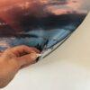 DecoDemp-CipO Akustik billeder med udskifteligt motiv. Runde akustik billeder med udskifteligt motiv. Rund støjdæmpning med udskifteligt motiv. Akustik klasse A.5