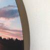 DecoDemp-CipO Akustik billeder med udskifteligt motiv og Bronze ramme. Runde akustik billeder med udskifteligt motiv. Rund støjdæmpning med udskifteligt motiv. Akustik klasse A.5